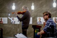 Klaus der Geiger und Marius Peter in der Kulturkirche Ost in Köln