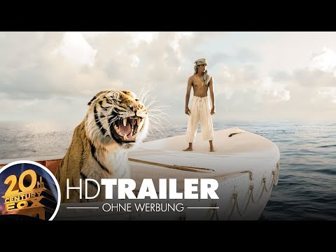 LIFE OF PI: Schiffbruch mit Tiger - Trailer 2 - (Full HD) - Deutsch / German