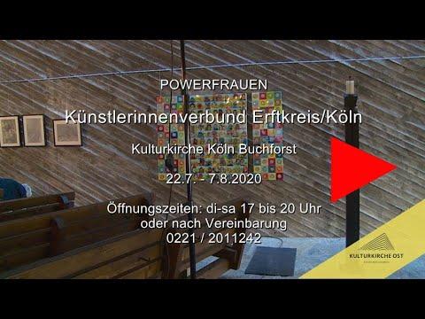 Frauenpower - Künstlerinnenverbund Erftkreis Köln - Ausstellung Kulturkirche Köln Ost