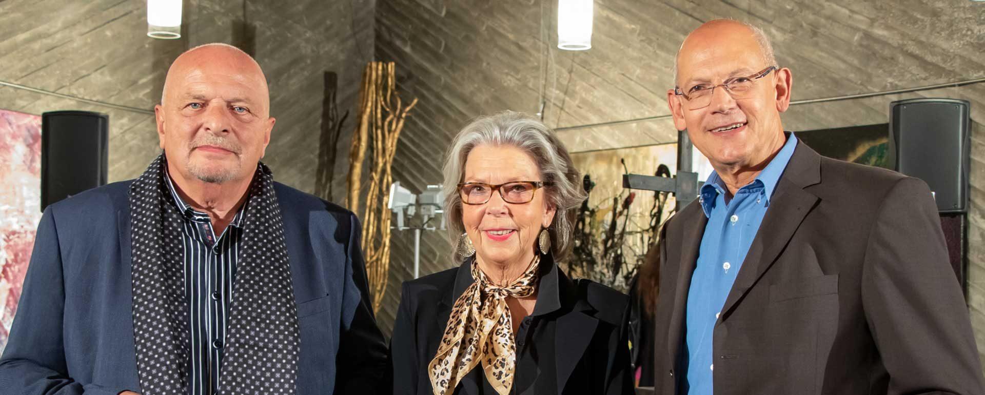 Ati von Gallwitz, Manfred Dahmen Alexander Ivo Franz Kulturkirche Ost Köln GAG