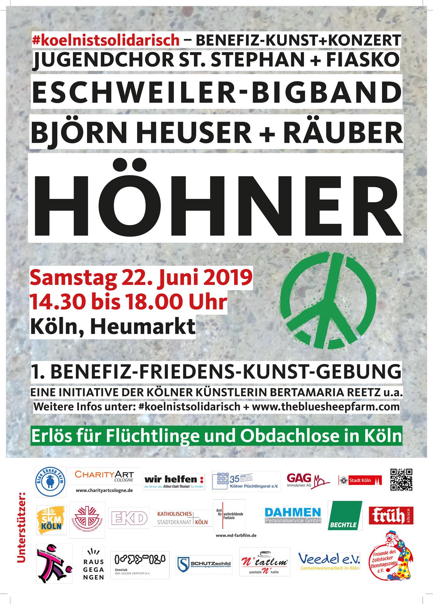 #koelnistsolidarisch GAG Köln Höhner