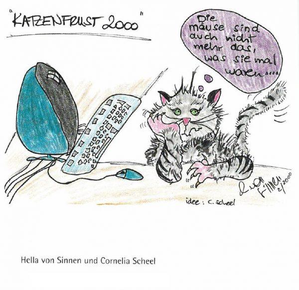 Cats Are Cool Benefizausstellung mit Prominenten in der Kulturkirche Ost Köln