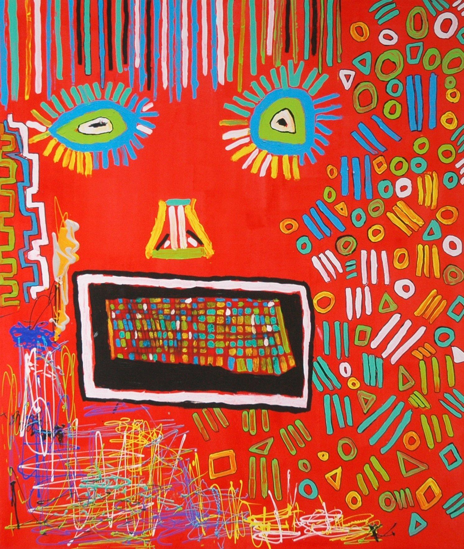 40 Auflagen, 80x120 cm, Gicléedruck auf Leinwand handübermalt und signiert mit Acrylfarbe. Festpreis 1.250,00 Euro.