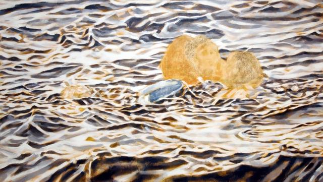Öl auf Leinwand,  80x130 cm, 4.000 €