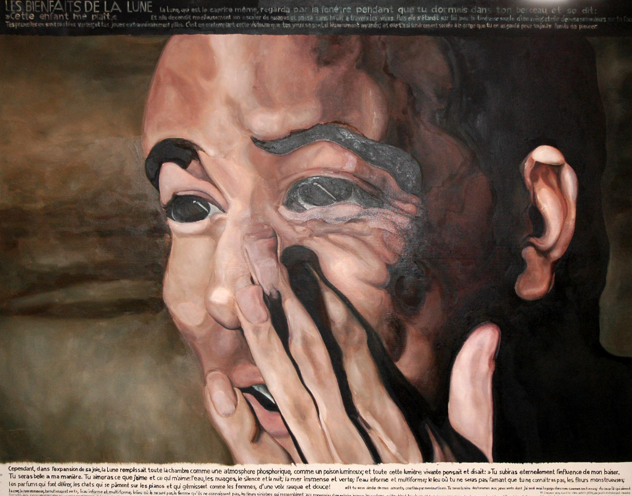 Öl auf Leinwand, 2011, 140 x180 cm     2700 €