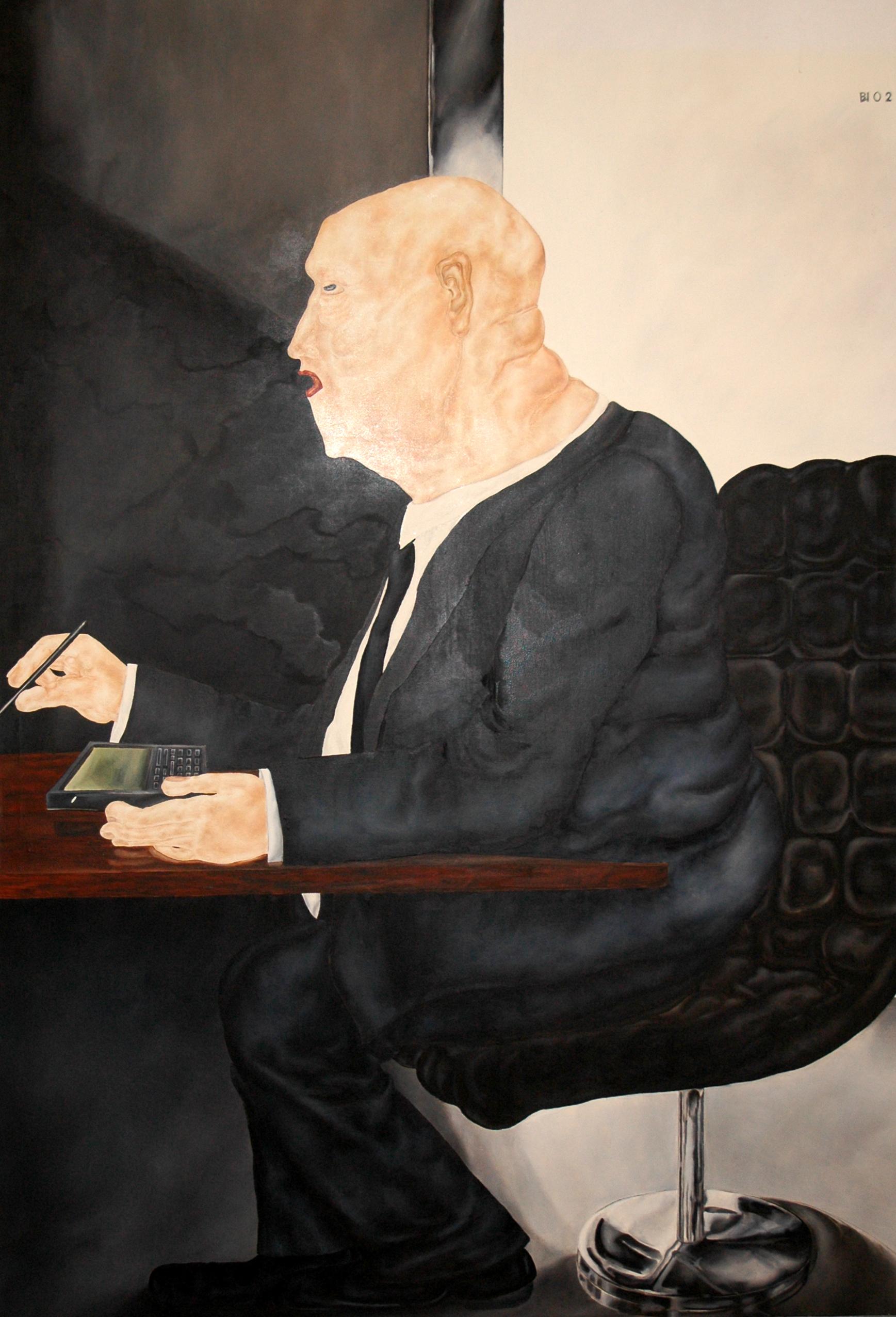 Öl auf Leinwand, 2002, 210 cm x 140 cm      2900 €