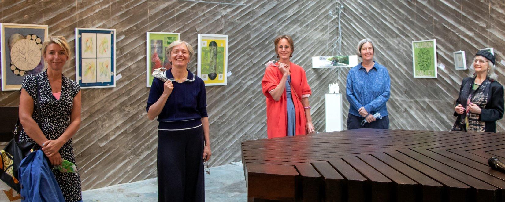 Frauen-Power Ausstellung in Kulturkirche Ost Köln GAG
