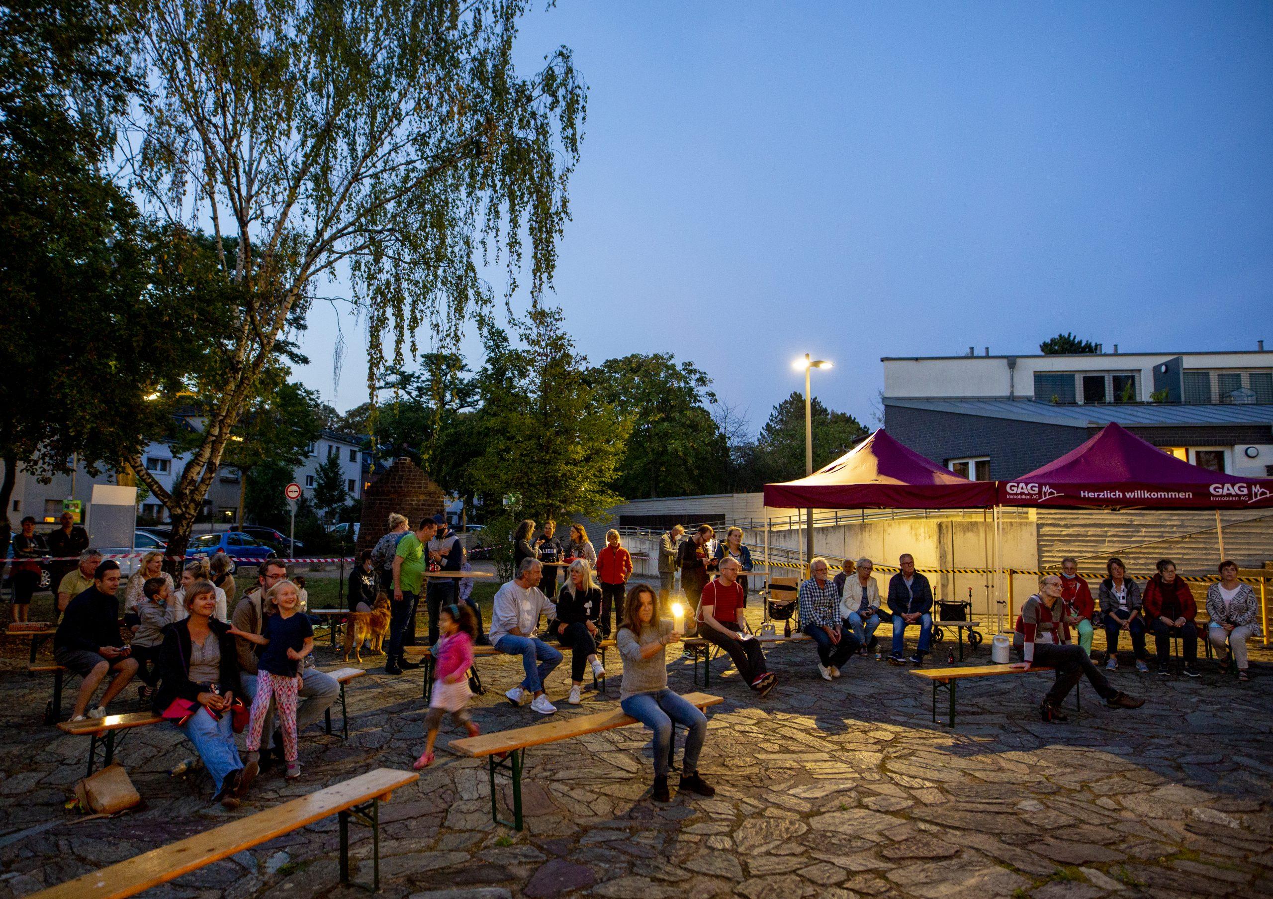 Blick ins Publikum beim Doppelkonzert an unserer KULTURKIRCHE OST. Foto: Thilo Schmülgen