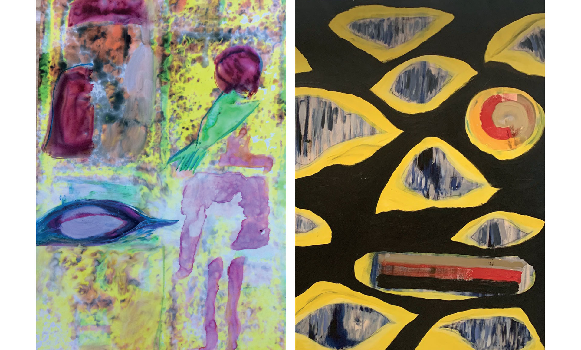 2 Gemälde von Butcher Fletcher