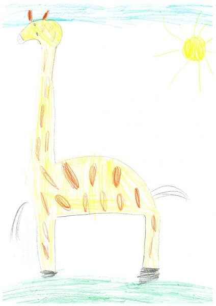 Zoo-Malwettbewerb: Isabella Damm