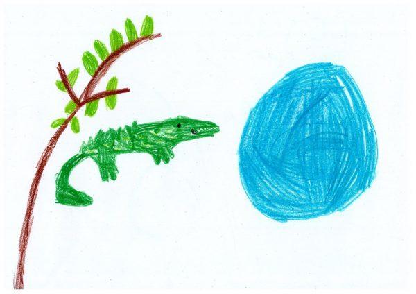 Zoo-Malwettbewerb: Lena Kilp