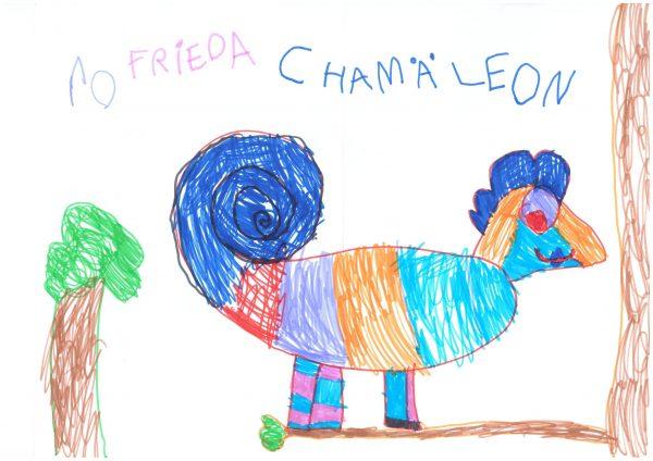 Zoo-Malwettbewerb: Frieda Anders
