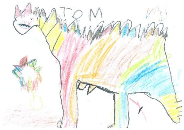 Zoo-Malwettbewerb: Tom Stauf