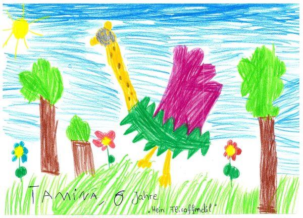 Zoo-Malwettbewerb: Tamina Stradinger