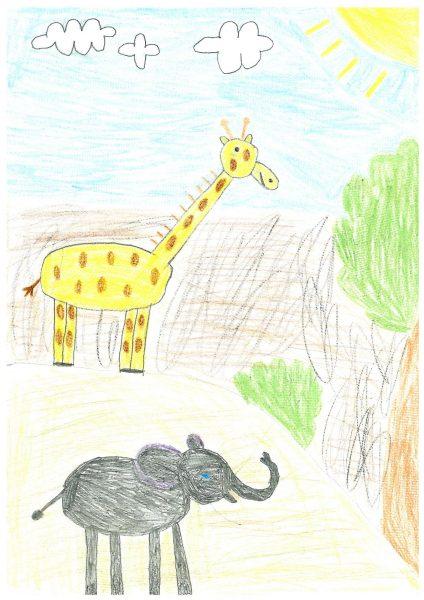 Zoo-Malwettbewerb: Roberto Remmel