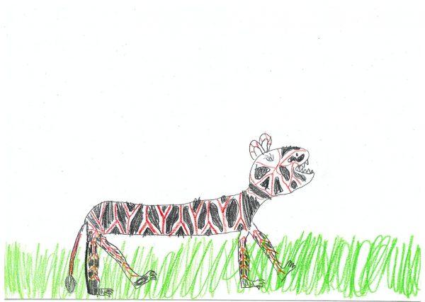 Zoo-Malwettbewerb: Rebekka Steyn