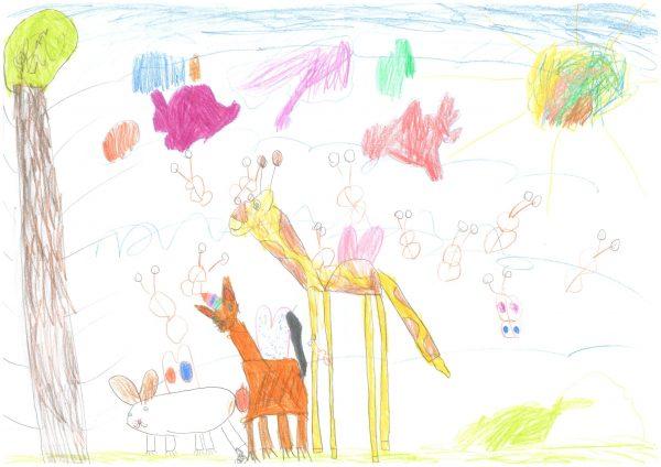 Zoo-Malwettbewerb: Tilda Walter