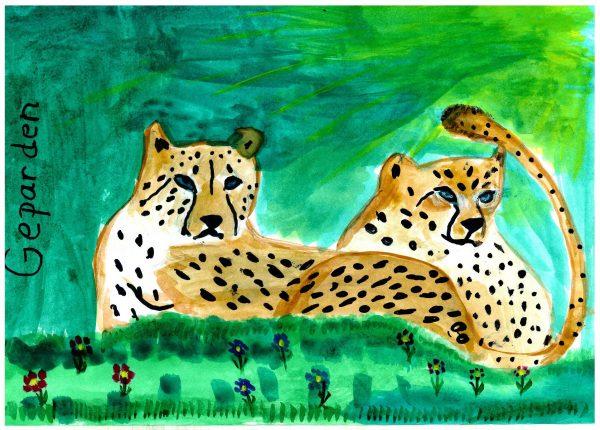 Zoo-Malwettbewerb: Mila Mieslinger