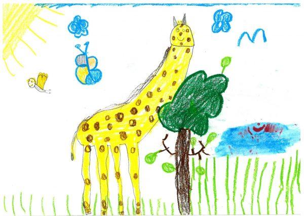Zoo-Malwettbewerb: Marlene Leitzikow