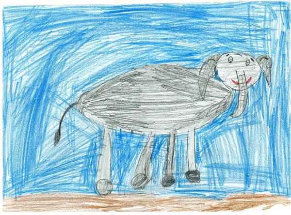 Zoo-Malwettbewerb: Malina Henne