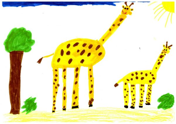 Zoo-Malwettbewerb: Malia Lu Decher