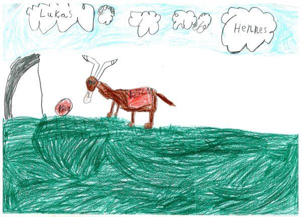 Zoo-Malwettbewerb: Lukas Miller