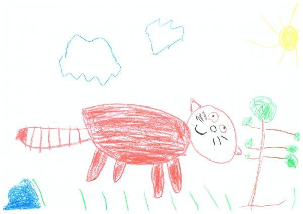 Zoo-Malwettbewerb: Tayo Schönebeck