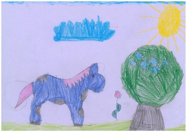 Zoo-Malwettbewerb: Sophie Müller