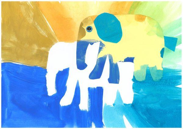 Zoo-Malwettbewerb: Paul Krauskopf