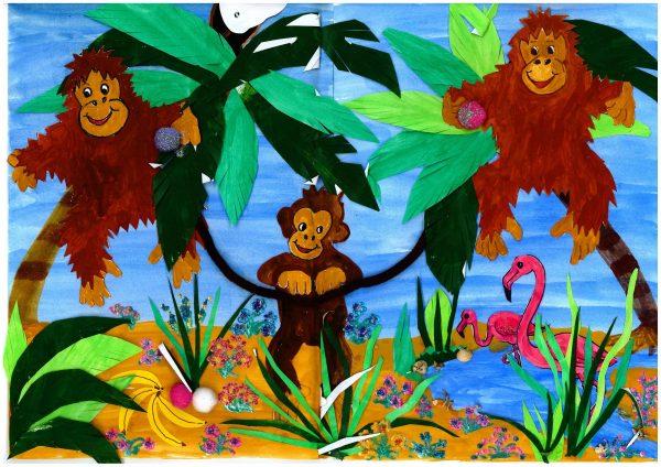 Zoo-Malwettbewerb: Anna Elkar