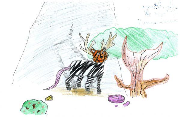 Zoo-Malwettbewerb: Mila Arzhang
