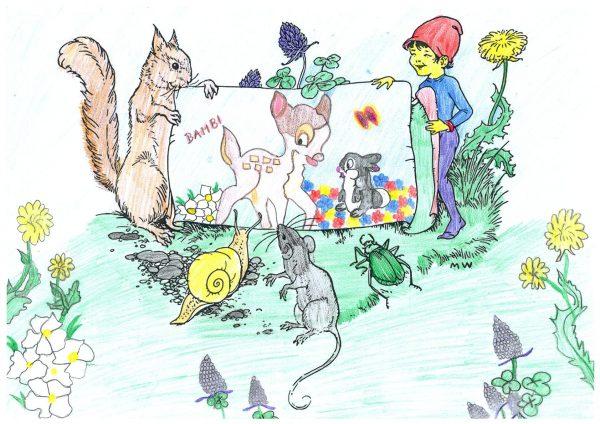 Zoo-Malwettbewerb: Martin Mazur