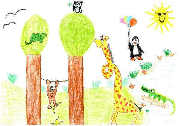 Zoo-Malwettbewerb: Lennart Antoni