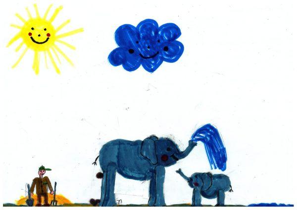 Zoo-Malwettbewerb: Josephine Bucklet