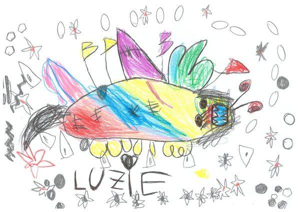 Zoo-Malwettbewerb: Luzie Rellecke