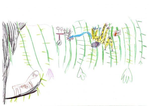 Zoo-Malwettbewerb: Joanna Klinner