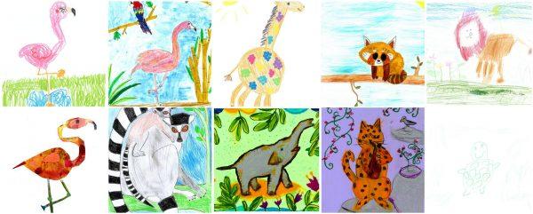 Zoo Malwettbewerb 2020 für Kinder in Köln und Umgebung GAG