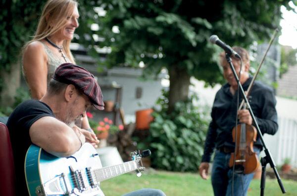 Markus Reinhardt Trio in der Kulturkirche Ost