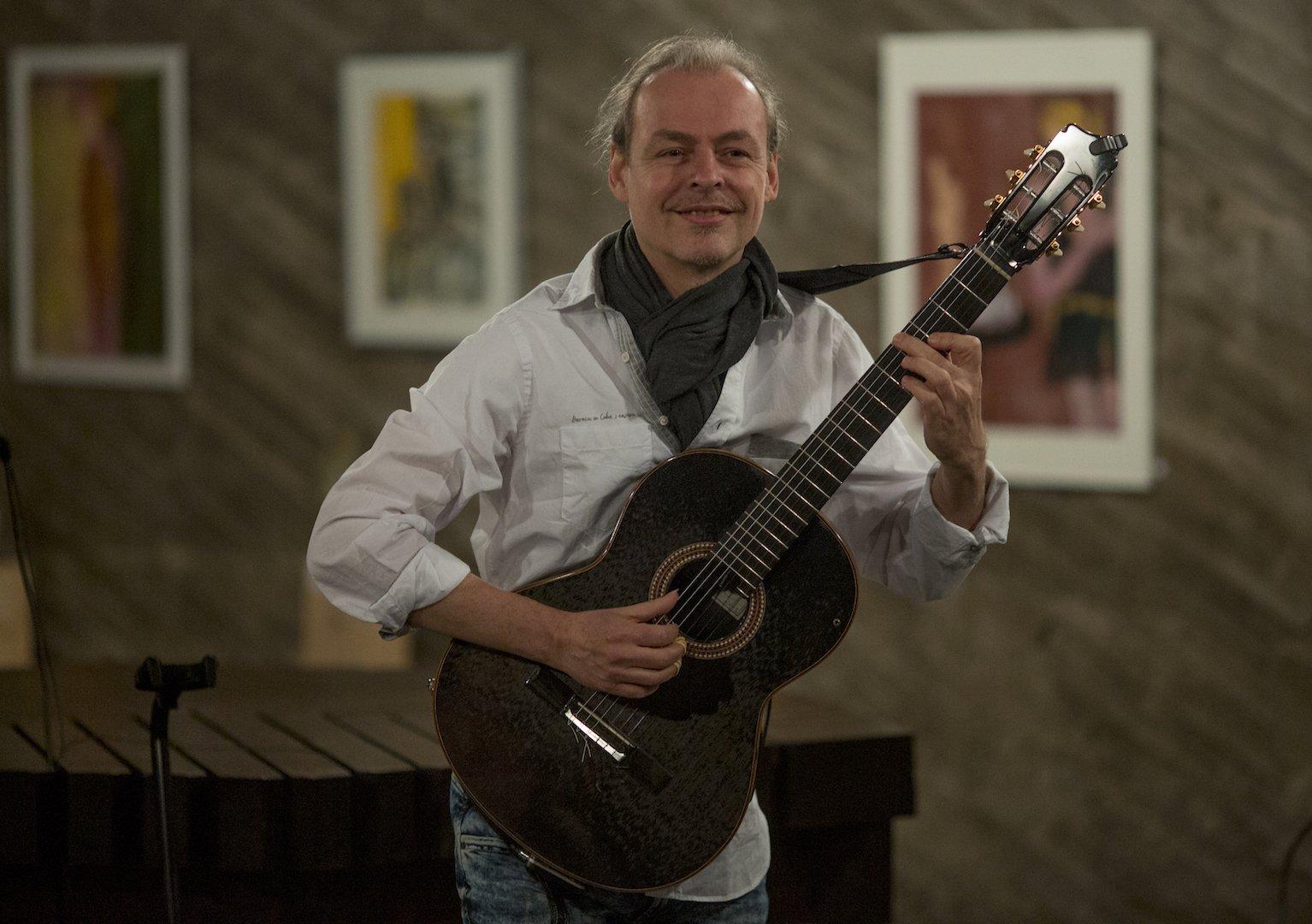 Gitarrenvirtuose Buck Wolters Kulturkirche Ost Köln GAG Immobilien AG